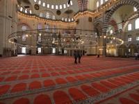 Istanbul - intérieur de la mosquée de Souleymane