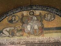 Istanbul - Mosaïque Sainte Sophie
