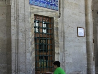 Istanbul - cour d\'une mosquée
